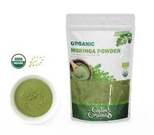 Moringa Oleifera Leaf Powder 8oz Organic resealable bag natural pure non GMO
