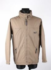 Jack Wolfskin Urbano Aire Libre Gris Hombre Mujer Chaqueta TALLA M