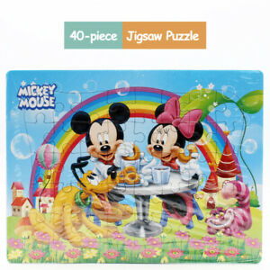 Disney Mickey Mouse Drawing 40 Pieces Jigsaw Puzzles Best Gifts Toys for Kids