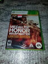 Medal of Honor: Warfighter -- Limited Edition (Microsoft Xbox 360, 2012) SEALED