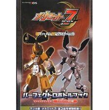 Medabots 7 Kabuto ver. / Kuwagata ver. Perfect Robotle book / 3DS