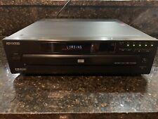 Kenwood Dv-605 Dvd Player 5 Multi Disc Changer With Original Remote