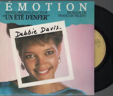 """Debbie Davis Emotion 45T 7"""" Inch SP 45 Tours bof un ete d'enfer francios valery"""