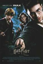 Harry Potter and the Order of the Phoenix - original DS movie poster D/S IMAX