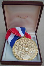 Original Cleveland Browns Marv Upshaw 1977 March of Dimes Pro-Player Award Medal