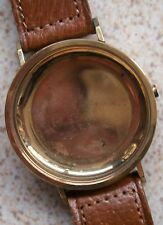 Girard Perregaux Vintage Chronograph Case 35,5 mm. one pusher Gold Filled N.O.S.