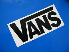 Vans Skateboard Adesivi / Decalcomanie x 2