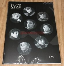 SMTOWN LIVE WORLD TOUR VI in SEOUL OFFICIAL GOODS EXO NOTE NEW