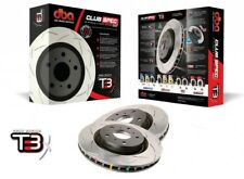 DBA T3 4000 front slotted brake disc pair for Nissan 350Z