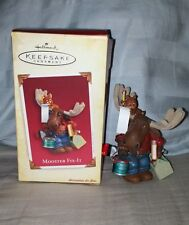 "2005 HALLMARK KEEPSAKE ""MOOSTER FIX-IT"" ORNAMENT"