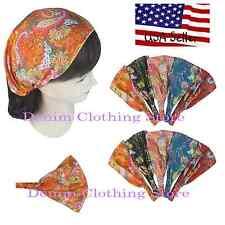 6pcs Women Wide Headband Headwrap Bandana Turban  Hairband Boho Elastic Yoga Lot