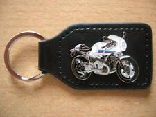 Schlüsselanhänger BMW R nine T / RnineT Racer weiss Motorrad Art. 1273 Moto