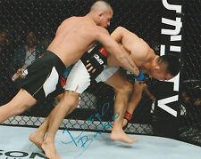 DIEGO BRANDAO SIGNED AUTO'D 8X10 PHOTO UFC 195 168 153 FIGHT NIGHT MMA TUF A