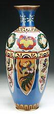 A BIG JAPANESE ANTIQUE CLOISONNE VASE, 19TH CENTURY