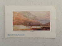 Vintage Postcard - Loch Awe. With Stamp No.9710     (112)