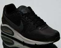 Nike Air Max Command Leather New Men's Low Lifestyle Shoes Black Grey 749760-001