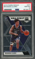 Brandon Clarke 2019 Panini Mosaic Basketball Rookie Card RC #277 PSA 10
