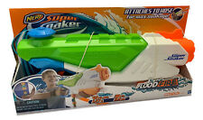 Nerf Super Soaker Flood Fire Water Gun Blaster 1.27Liters Outdoor Pool Fun Games