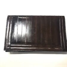 Leather Genuine Elk Leather Clutch Bag Detachable Strap Gently Used