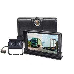 "15M Cable Car Parking Reversing Camera 7"" LCD RearView Monitor Kit Truck Bus Van"