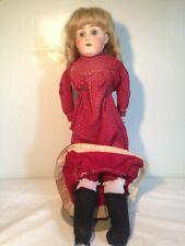 Antique German Bisque Doll 22'