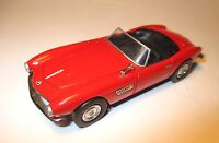 BMW 507 Roadster Cabrio Cabriolet in rot rouge rosso red, Schuco in 1:43!