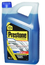 2 X 5 Litre Prestone Extreme Visibility Concentrate Car Screen Wash 10 Litres