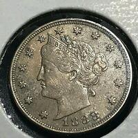 1888 LIBERTY NICKEL HIGH GRADE RARE COIN