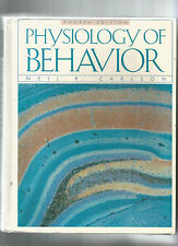 PHYSIOLOGY OF BEHAVIOR by Neil Carlson 1996 4th Edition Hc COLOR PLATES U MASS