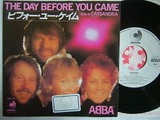 PROMO WL / ABBA THE DAY BEFORE YOU CAME / JAPAN DISCOMATE 7INCH