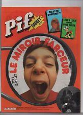 PIF GADGET n°629 - Avril 1981 - Etat neuf sans le gadget.