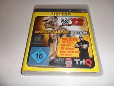 PLAYSTATION 3 PS 3 WWE 12-Platinum Edition