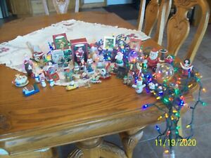 Christmas Ornaments Vintage Hallmark & Others Lot Of 44 Holiday Decorations....