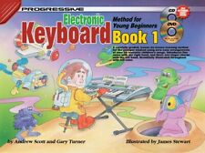 Progressive Electronic Keyboard Method For Young Beginners: Book 1 Keyboard Shee