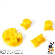 Nintendo Game Boy Pocket Knöpfe Buttons Drücker Tasten MOD Pads yellow GBP Gelb