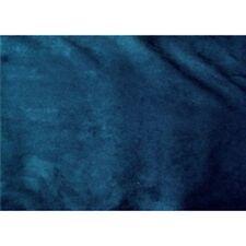 INDIGO BLUE UPHOLSTERY MICRO SUEDE FABRIC $9.99/YARD