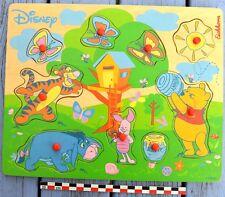 Puzzle en bois Winnie l'ourson, Walt Disney Eichhorn, 9 pièces