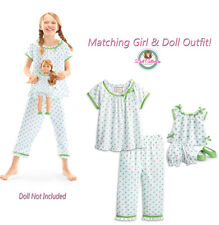 American Girl CL MARYELLEN DUO FLOWER PRINT PAJAMAS XL 18-20 Girl & Doll NEW