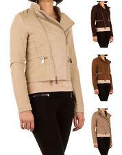 Markenlose Damenjacken & -mäntel aus Leder für die Freizeit
