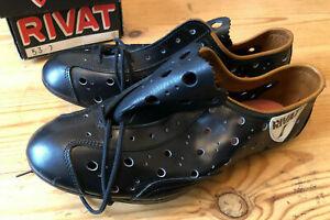 NOS Rivat Vintage Cycling Shoes 1980s Size 40 (UK 6.5-7) NIB