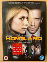 Claire Danes Damian Lewis HOMELAND - SEASON 2 ~ 2012 Terrorism Series | UK DVD
