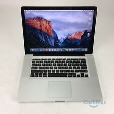 "Apple 2011 MacBook Pro 15"" 2GHz I7 500GB 8GB MC721LL/A + C Grade + Warranty!"