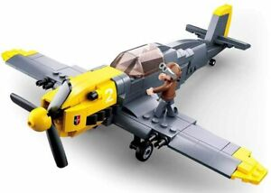 Original Sluban M38-B0692 - german Bomber - deutscher Jagdbomber - 289 Teile
