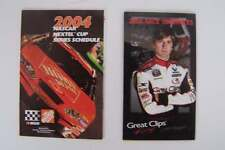 Nascar Racing Wallet Schedules Tony Stewart & A J Foyt IV Home Depot