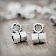 400pcs Tibetan Silver Bail Spacers Bead Findings TS1044
