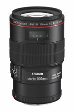 Canon EF 100mm f/2.8L IS USM Macro Camera Lens (3554B002)