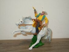 Cowboy on Horse - Plastic Toy - Britains England *37779