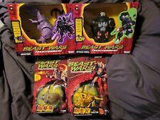 Transformers Retro 2021  Beast Wars lot of 4 sealed new!