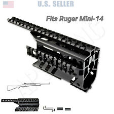 Ruger Mini 14 Mini-14 Ranch Rifle Scope Handguard Rail / Mount Forend, Aluminum