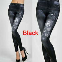 Mode femme New sexy Skinny leggings jeans Jeggings pantalons extensible denim